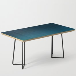 Navy blue teal hand painted watercolor paint ombre Coffee Table