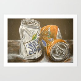Cans of Soda  Art Print