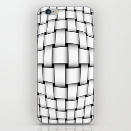 intertwined bands iPhone Skin