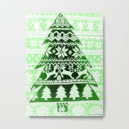 Christmas Artwork #14 (2017) Metal Print