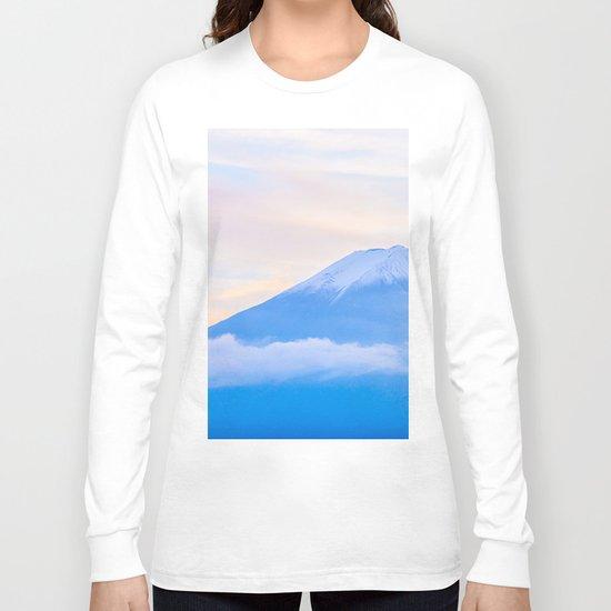 pastel mountain #sky Long Sleeve T-shirt