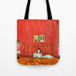 Amélie's Bed Tote Bag