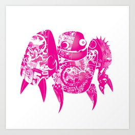 minima - slowbot 005 Art Print