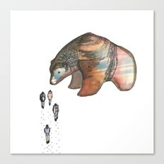 Bear Investigations Canvas Print