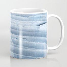 Blue waves abstract painting Coffee Mug