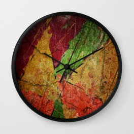 Thirsty Earth Wall Clock
