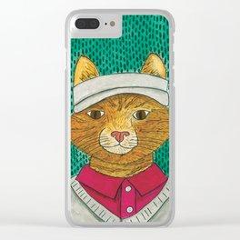 Golf Catty Clear iPhone Case
