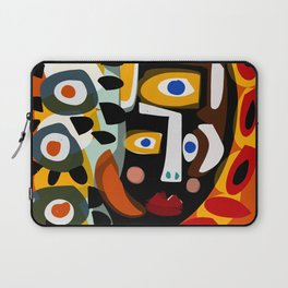 African Woman is dreaming in the sunrise Laptop Sleeve