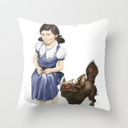 Mommy Can i keep it? Throw Pillow