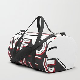 I Laugh in the face of Danger Duffle Bag