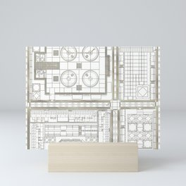 plan study #1 Mini Art Print