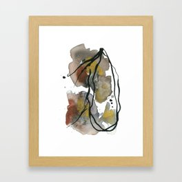 ongoing commotion Framed Art Print