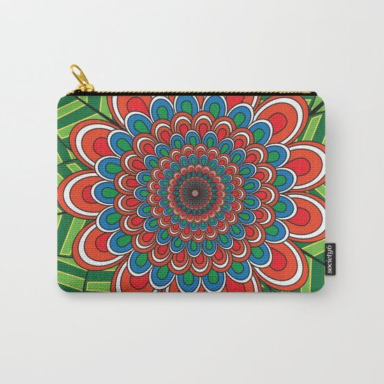 Pattern J Carry-All Pouch