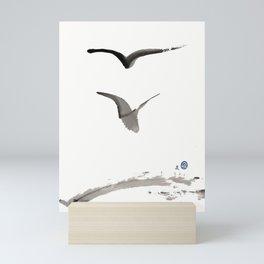 Love Hawk 1 Mini Art Print