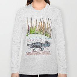 Alligator Swamp Long Sleeve T-shirt