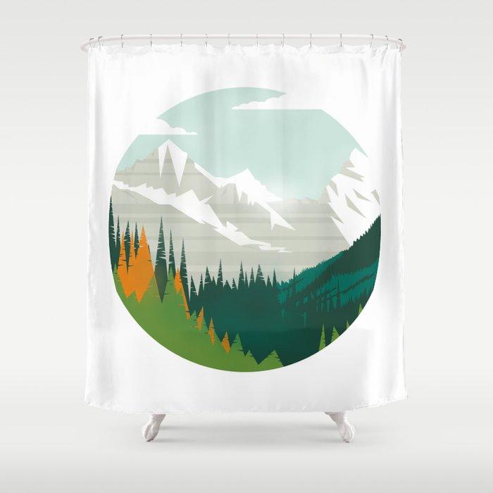 Rocky Shower Curtain