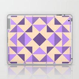 PURPLE AZTEC GEOMETRY Laptop & iPad Skin