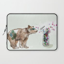 There is Magic all Around Us Laptop Sleeve