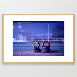 25th street Framed Art Print