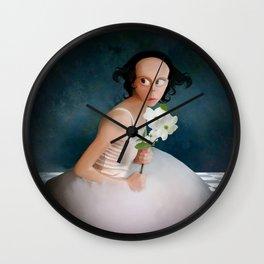 The Girl Next Door Wall Clock