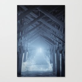 Under the Pier 2 Canvas Print