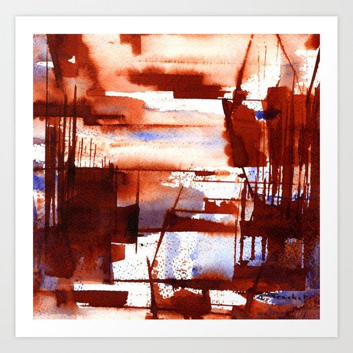 shipyard Art Print