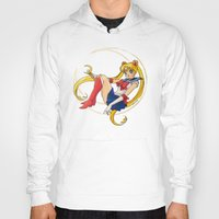 sailor moon Hoodies featuring Sailor Moon by Brittany Ketcham