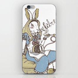Free hare   Libre liebre iPhone Skin
