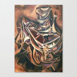 Brown Dress Canvas Print