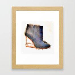 Lucite Framed Art Print
