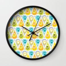 Funky Summer Wall Clock