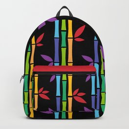 Rainbow Bamboo Backpack