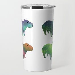 Space Capybaras Travel Mug
