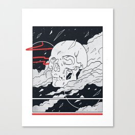 HEAD IN THE SKY Canvas Print