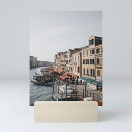 Grand Canal of Venice   Italy travel photography, iconic Venice Saige Ashton prints Mini Art Print
