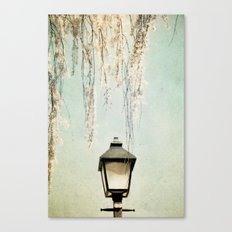 Old Town Blossoms Canvas Print