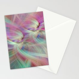 Rainbow Colored Abstract. Concept Divine Virtues Stationery Cards