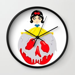 Poise and Poison Wall Clock