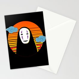 No Face a Lonely Spirit Stationery Cards