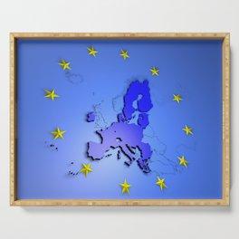 European Union Serving Tray