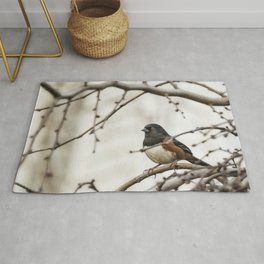 Spotted Towhee Rug