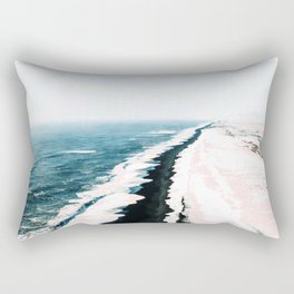 Pink Sand #society6 #decor #buyart Rectangular Pillow