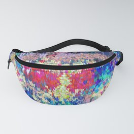 Superhero Type Art Comics Woman Fanny Pack