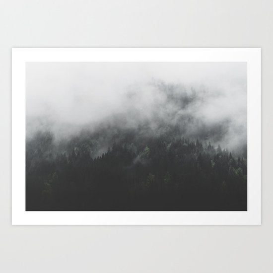 Spectral Forest II - Landscape Photography Art Print