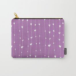 Handwriting Hearts III Carry-All Pouch