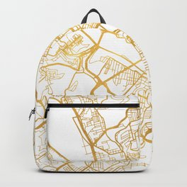 PITTSBURGH PENNSYLVANIA CITY STREET MAP ART Backpack