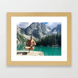 Mountain Zen Framed Art Print
