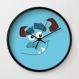 "Sulley ""Kitty"" Wall Clock"