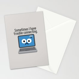 The Social Notwork Stationery Cards