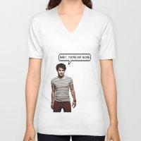 darren criss V-neck T-shirts featuring Darren Criss  by Hannah